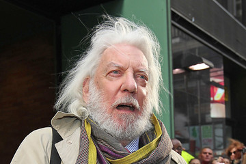 Donald Sutherland Donald Sutherland Leaves 'Good Morning America'