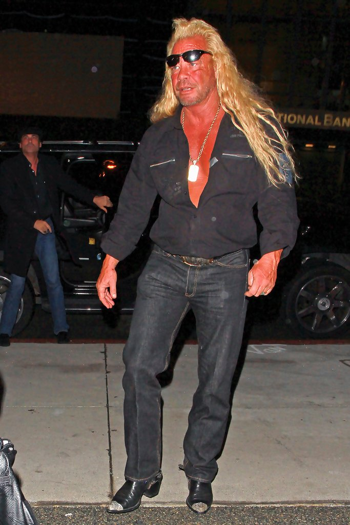 Duane chapman out and about in la zimbio for Duane chapman dog the bounty hunter