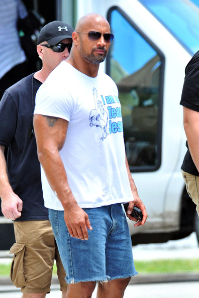 The Rock Films 'Pain and Gain' - Zimbio  The Rock Films ...