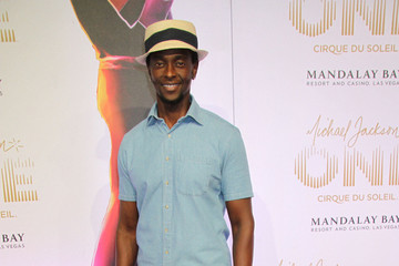 Edi Gathegi Stars at the 'Michael Jackson ONE by Cirque du Soleil' Show