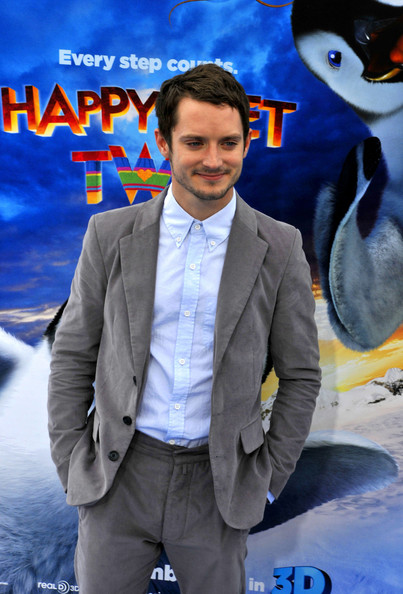 """Elijah Wood Elijah Wood at the premiere of """"Happy Feet Two"""" at the """"Grauman's Chinese Theatre""""."""