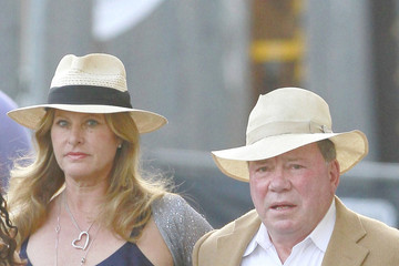 Elizabeth Shatner William Shatner Out with His Wife in LA