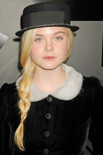 Elle Fanning Elle Fanning at the Chanel Bijoux De Diamant 80th Anniversary party at 45 West 53rd Street.