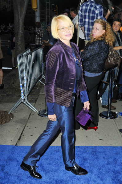"Ellen Barkin at the Premiere of ""Five"" in NYC - Zimbio"