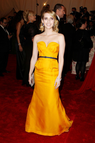 Emma Roberts - Celebs on the Red Carpet at the Met Gala in NYC 2