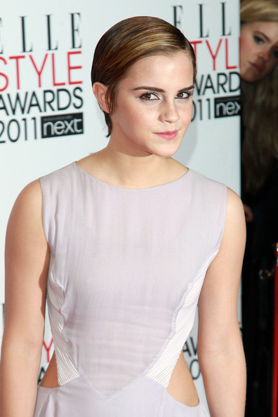 Emma Watson Emma Watson poses for photographs on the red carpet of the Elle Style Awards, Grand Connaught Rooms in London.