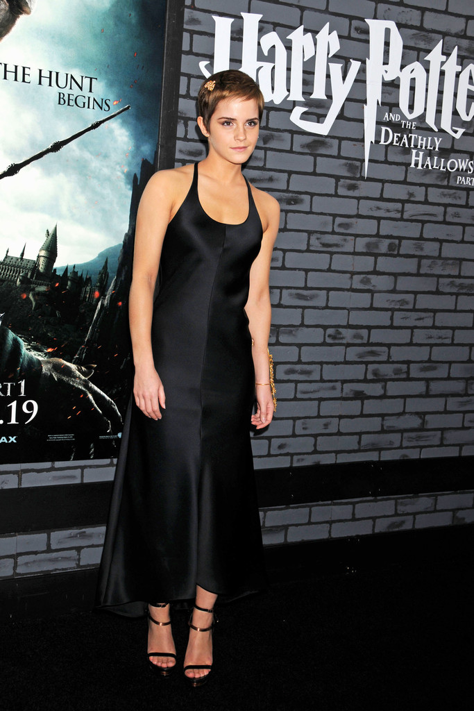 Emma Watson Harry Potter And The Deathly Hallows Part 2 Premiere Dress Emma Watson in New Yor...