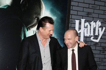 "Ralph Fiennes Liam Neeson New York Premiere of ""Harry Potter and the Deathly Hallows: Part 1"""