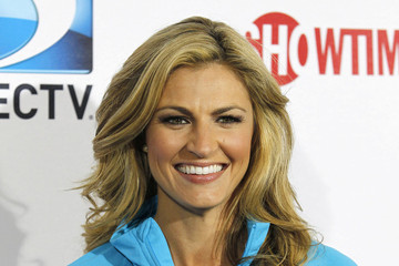 Erin Andrews Neil Patrick Harris seen attending the 7th Annual Direct TV Celebrity Beach Bowl in New Orleans, Louisiana