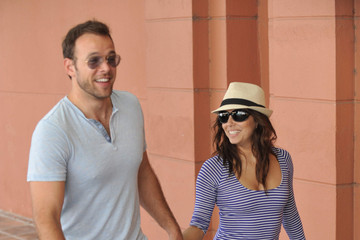 Ernesto Arguello Eva Longoria and Ernesto Arguello Go Shopping in Malaga