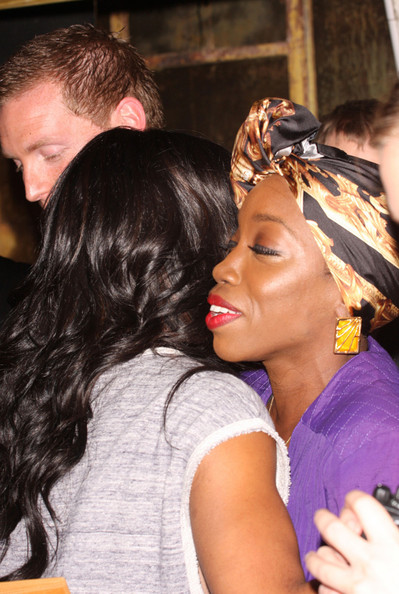 Kelly Rowland at 'The Box' Theatre in London