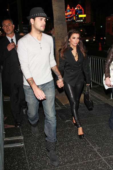 Eva Longoria - Eva Longoria and Eduardo Cruz Hold Hands