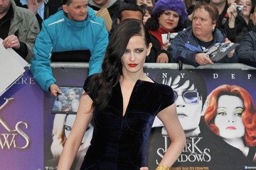 Eva Green Paloma Faith seen attending the premiere of 'Dark Shadows' at the 'Empire' cinema in London