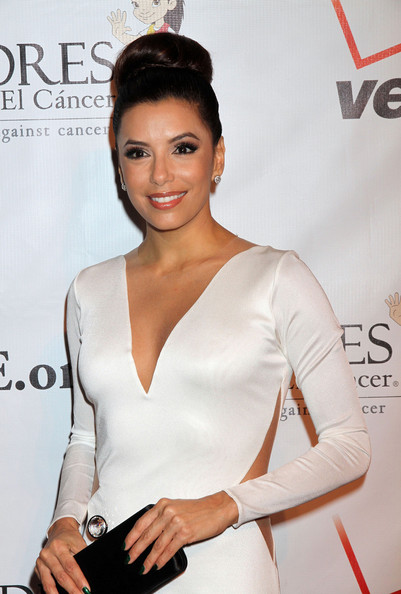 Eva Longoria - Celebs at the Padres Contra El Cancer Gala