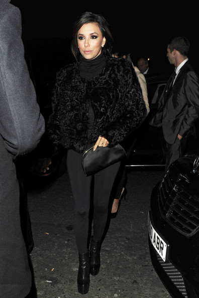 Eva Longoria and boyfriend Eduardo Cruz hold hands after partying with Prince Azim of Brunei at No.5 Cavendish in London. Eva had hosted The Noble Gift Gala event at The Dorchester Hotel and the new couple headed back to their hotel at around 2:30am.