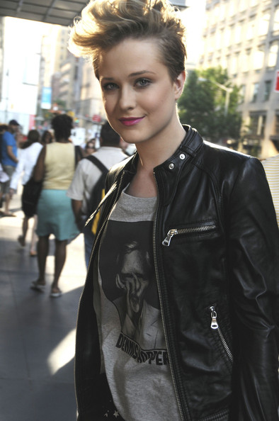 """Evan Rachel Wood at the Season premiere of HBO's """"Curb Your Enthusiasm"""" in New York."""