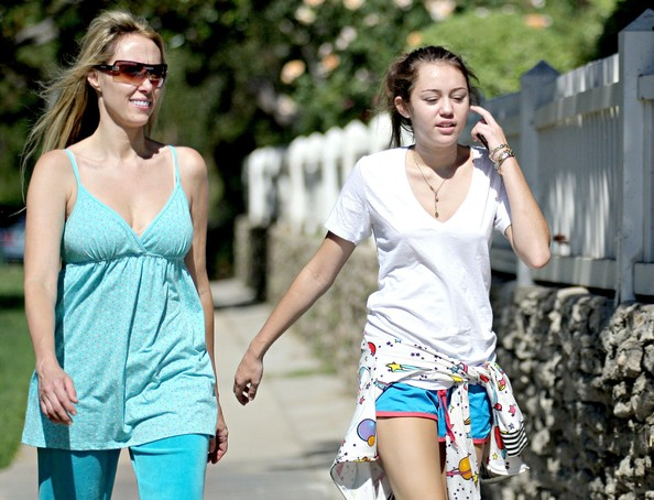 Miley Cyrus FILE PHOTO dated Wednesday August 29 2007. **EXCLUSIVE** Billy Ray Cyrus and wife Leticia Cyrus have reportedly filed for divorce after 17 years of marriage. **ORIGINAL CAPTION** Miley Cyrus, the 14-year-old star of
