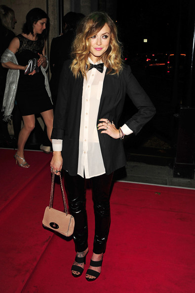Fearne Cotton at the 2010 Drapers Awards held at Grovenor House Hotel in London