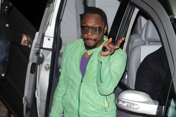 will.i.am Celebs Leave Fountain Studios 2