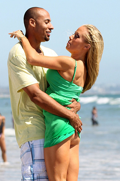 Kendra Wilkinson and Family at Kendra Wilkinson And Hank Baskett Family