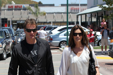 Randy Gerber Cindy Crawford Shops in Malibu