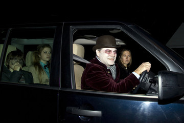 Jack Dee Celebrities at a Halloween Party