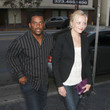 Alfonso Ribeiro and Mystery Blonde