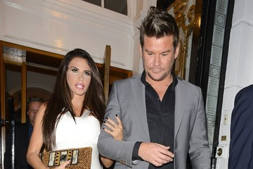 Gary Cockerill Katie Price and Gary Cockerill at the Cadogan Hotel