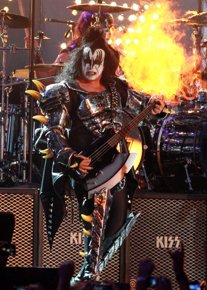 gene simmons live. kiss perform live at the \ gene simmons m