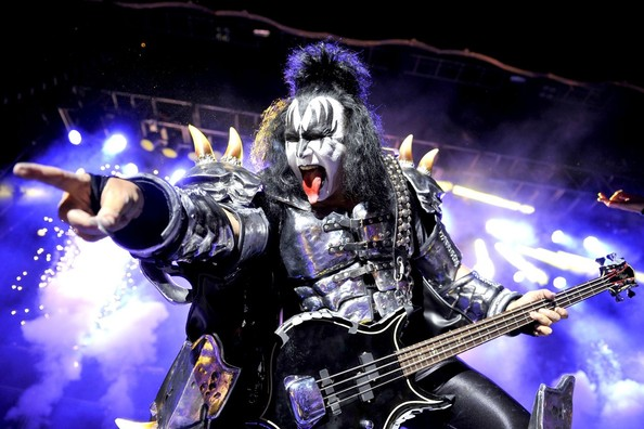 gene simmons live. paul stanley of kiss performs live in concert for the help heroes benefit at gene simmons e