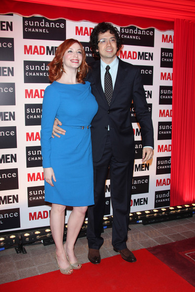 christina hendricks boyfriend. Christina Hendricks and her