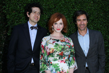 Geoffrey Arend Eric McCormack Celebs at a Benefit Brunch in Beverly Hills