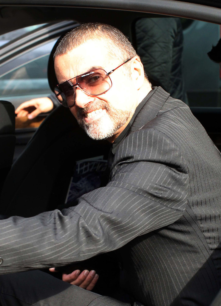 george michael leaves home zimbio