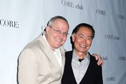 Brad Altman and George Takei attending the 'Celebrity Apprentice' Panel Discussion at the Core Club in New York City.