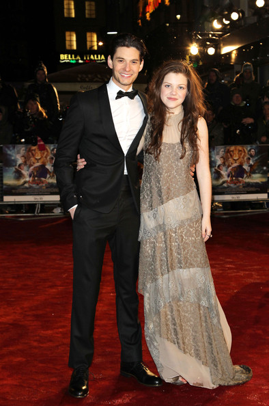 georgie henley 2011. Georgie Henley Ben Barnes and