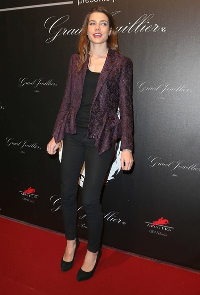 Celebs at the Gucci Paris Masters Event
