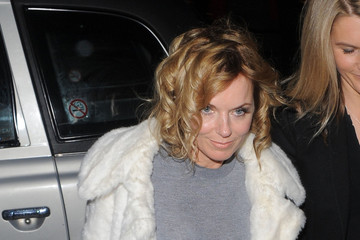 Geri Halliwell Geri Halliwell Out Late in London