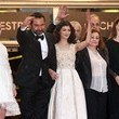 Gilles Lellouche and Catherine Arditi