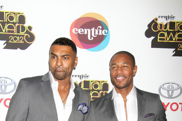 Ginuwine Daley on the red carpet for the 2012 Soul Train Awards in Las Vegas
