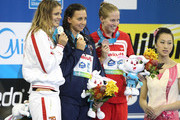 More medals for Team USA at the World Swimming Championships in Shanghai. Rebecca Soni took gold for breaststroke, as well as another gold with team mates Melissa Franklin, Dana Vollmer, Natalie Coughlin in the 4 x 100m relay.