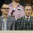 Grant Shaffer Celebs Catch a Tennis Game During the US Open