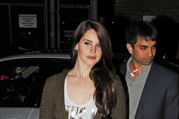 Guns N' Roses Lana Del Rey arrives to perform an intimate gig at the Jazz Cafe in London