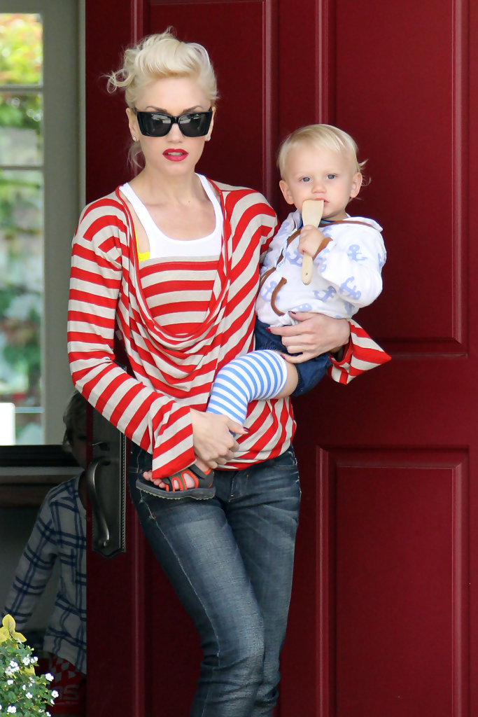 gwen stefani and gavin rossdale in long beach zimbio. Black Bedroom Furniture Sets. Home Design Ideas