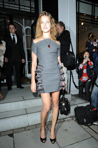 """Gwyneth Paltrow at Stella McCartney's London store for the """"Fashion's Night Out"""" event"""