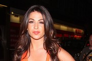"""Cara Kilbey at the after-party for """"Keith Lemon: The Film"""" held at Planet Hollywood in London."""