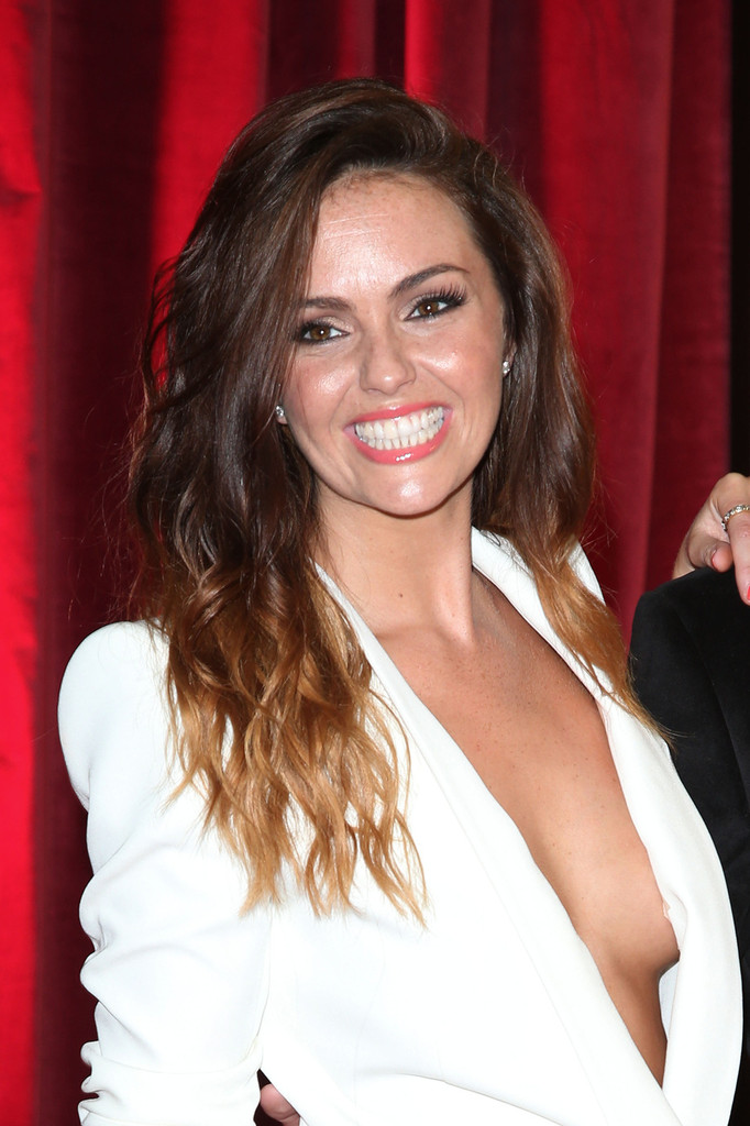 Catherine tyldesley brooke vincent tongue kiss a tv host 6