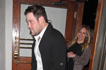 Hilary Duff Mike Comrie Hilary Duff and Mik Comrie at Madeo's
