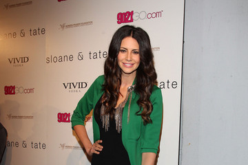 Hope Dworaczyk Celebs at the Sloane & Tate Launch Party at Siren Studios in Hollywood