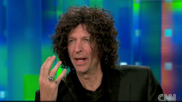 "Piers Morgan interviews the long time radio show host Howard Stern on his new show ""Piers Morgan Tonight"". During the interview, Morgan and Stern touched on"