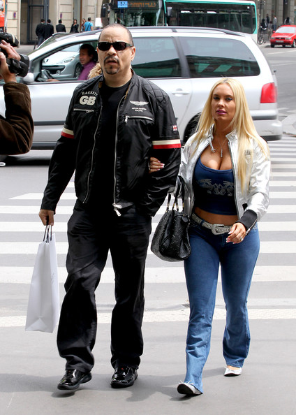 Coco Austin with Husband Ice T